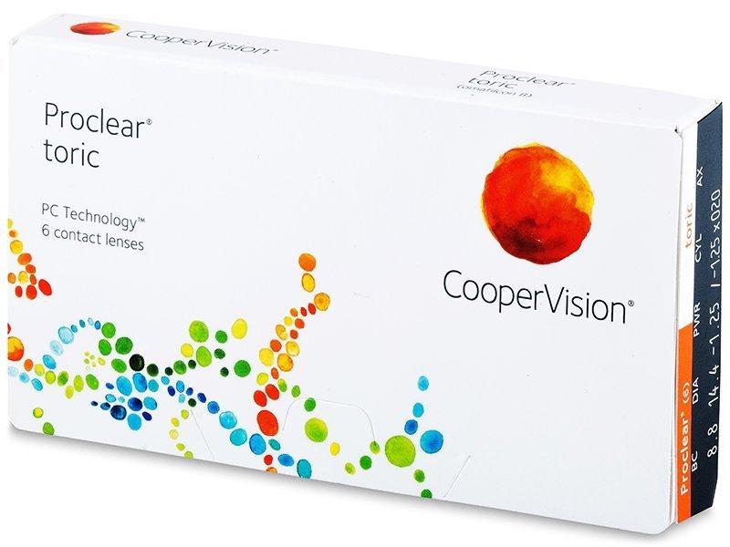 Proclear Toric (6 lenti) - Toric contact lenses