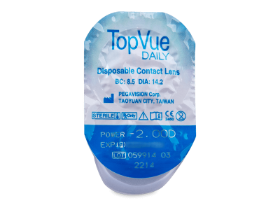 TopVue Daily (30 lenti) - Blister pack preview