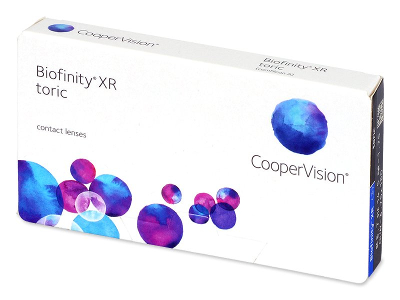 Biofinity XR Toric (3 lenti) - Toric contact lenses