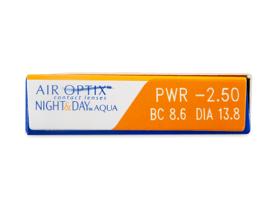 Air Optix Night and Day Aqua (6 lenti) - Attributes preview